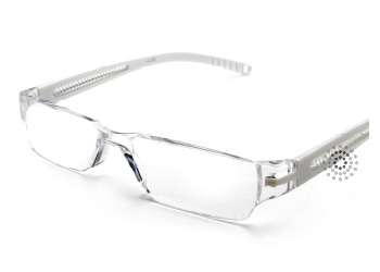 Octane Reading Glasses: White
