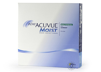 Acuvue 1 Day Moist Multifocal 90 pk.
