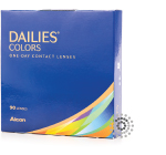 Dailies Colors One-Day 90 Pack Contact Lenses