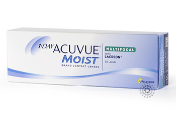 Acuvue 1 Day Moist Multifocal 30 pk. Contact Lenses
