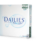 Focus Dailies Toric 90 Pack Contact Lenses