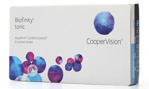AquaClear Toric Contact Lenses